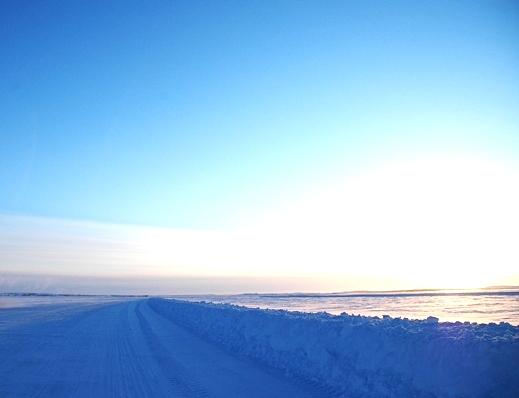 Larabie specializes in Winter Road Transportation